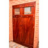 Puertas Alacenas De Cocina Cedro, Dos Hojas Y 1 Hoja