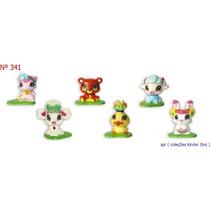 Kinder Ovo - Coleção Completa - Winx Club Love E Pet 2010