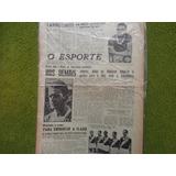 Jornal O Esporte 2653 De 1947 Canhotinho Meia Do Palmeiras