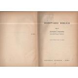 Dizionario Biblico En Italiano-editrice Studium Roma