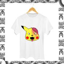 Camiseta Pikachu - Pikachu Zumbi - Dropdead