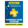 Psn Plus 1 Año Playstation Plus 12 Meses Ps4 Ps3 Legal