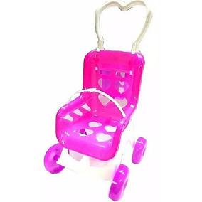 Coche Muñecas Juguete Niñas Rosado Barbie Monster Trapo Bebe