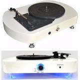 Vitrola Musical Para Discos De Vinyl - Echo Vintage Com Leds