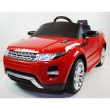Carrito Electrico Land Rover Rojo Control Remoto Mp3 Luces