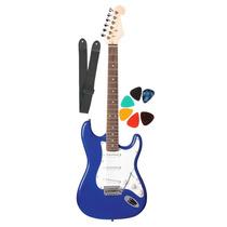 Guitarra Electrica Stratocaster +funda+puas+dvd+correa Flash