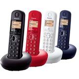 Panasonic Inalambrico 4 Handys Digital Elegi Tus Colores