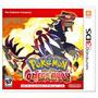 Pokémon Omega Ruby 3ds Região Usa | Com Garantia Playgorila