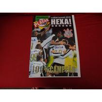 Revista Poster Corinthians Placar Hexa-campeão Cb 2015