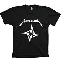 Camisas Bandas Rock Metal - Metallica