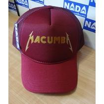 Boné Macumba Trucker Cap Tela Aba Curva Nada Wear