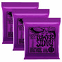 3 Sets Ernie Ball 2220 Cuerdas Guitarra Electrica 11-48