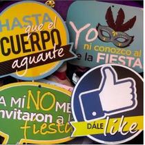Letreros Para Fiesta Props, Boda,año Nuevo,xv Años,emoji