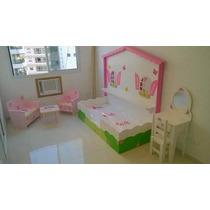 Cama Infantil De Floreira Feminina - 170x80