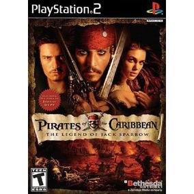 Jogo Patch Pirates Caribbean Legend Jack Sparrow Play2 Ps 2