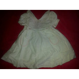 Bello Vestido De Bautizo Para Niñas 100% Algodon