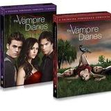 Box 1ª E 2ª Temporada The Vampire Diaries 10 Dvds Compre Ja