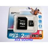 Micro Sd 2gb Kingston Sillicon P/ Celulares,n95,x10,x8, S2