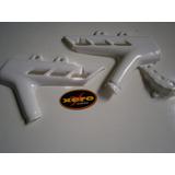 Juego Cubre Cuadro Plastico Rigi Honda Xr 250 Tornado Blanco