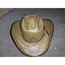 Sombrero De Palma Pasito Vaquero Orilla De Colores