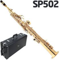Sax Soprano Eagle Sp-502 Novo - Case Luxo E 2 Todéis