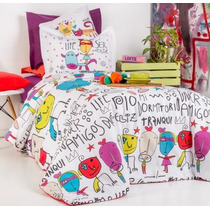 Arredo - Milo Lockett - Funda Reversible + Relleno - Twin