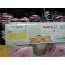 Babadores Infantil Kit Com 30 Pacotes Cores Sortidas Atacado