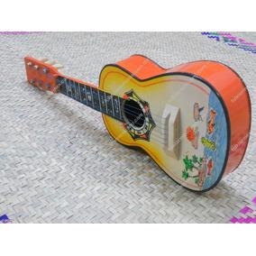 Guitarrra Yuca De Madera Juguetes Tipicos Mexicanos
