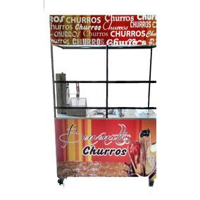 Carrito De Churros - Rellenos Y Tradicionales