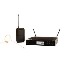 Microfone S/ Profissional Fio Shure Auricular Blx14/mx53