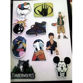 Cartela Adesivos Stickers Vários