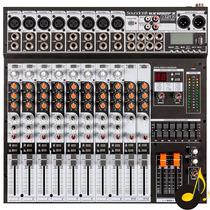 Mesa De Som Soundcraft Sx1202 Fx Usb Efeitos Sx1202fx Promo