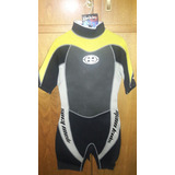 Traje Neoprene Corto 3/2 Maui And Sons Kids Talle L