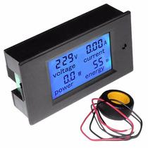 Modulo Multimetro Voltimetro Amperimetro Panel 80-350vac100a