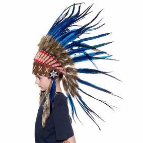 Penacho Indigena Apache Indio Para Niños Envio Gratis 10