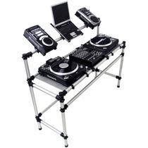 Rack Para Technics Mk2 Ou Audio Technica, 1 Mixer & 2 Cdjs