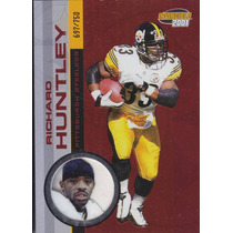 2001 Pacific Invincible Red Richard Huntley Rb Steelers /750