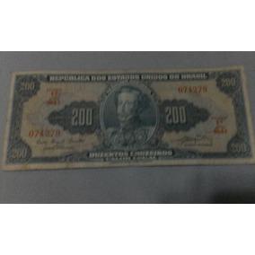 Cédula De 200 Cruzeiros (bc)