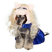 Disfraz Para Perro Disney - Muppets - Miss Piggy - Traje De
