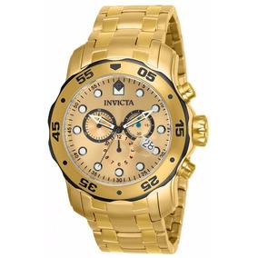 Relógio Invicta Pro Driver 80070 Dourado Masculino