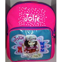 Mochila Infantil Escolar Jolie P/ Crianças De 1 A 5 Anos