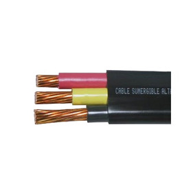 Cable Sumergible Plano 3x12 600v Bomba Corriente Directa, Ca