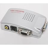 Conversor Vga A Rca Nuevo Con Cables Incluidos Garantia