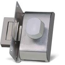 Fechadura Elétrica Hdl Porta De Vidro Pv90 1r-b Inox Recorte