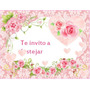 Kit Imprimible Candy Bar Shabby Chic Rosas Full Fiesta 3x1