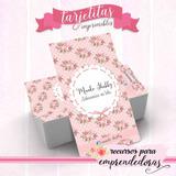 Tarjeta Personal Artesana, Muñecos Soft Imprimible