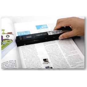 Scanner Portátil De Mão Skypix Tsn415 900dpi Usb Micro Sd