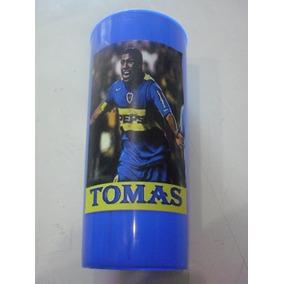 Vasos Plasticos Personalizados Boca Juniors Carlos Tevez 10u