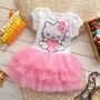 Lindo Polo Vestido Tuttu Hello Kitty