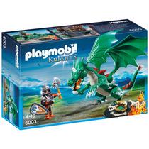 Playmobil Knights Gran Dragon Verde Art. 6003 Intek